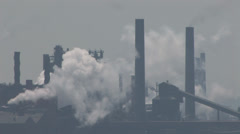 Industrial Pollution - stock footage