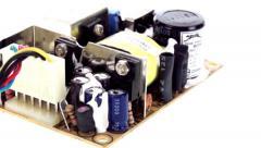 Small power regulator circuit board pan 3 - stock footage