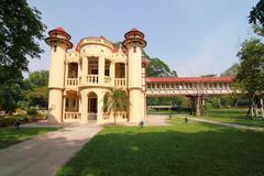 sanam chan palace,(king rama 6), nakhon pathom, thailand . - stock photo