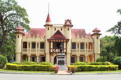 Sanam chan palace,(king rama 6), nakhon pathom, thailand . Stock Photos