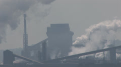 Industrial Pollution Stock Footage