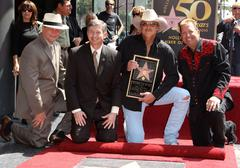 Alan jackson is honoured with the 2405th star on the hollywood walk of fame.. Stock Photos