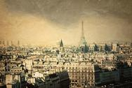 Stock Illustration of old-fashioned paris france