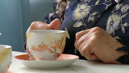 Stock Video Footage of Hands of an elderly woman