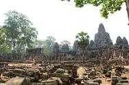 Stock Photo of bayon in angkor, cambodia