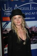 anita briem.4th los angeles italia film fashion & art fest - opening night ce - stock photo