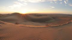 Time Lapse of Desert Sunset - 4K Stock Footage