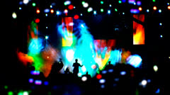 The actual concert footage 4 Stock Footage