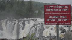 Grand Falls Stock Footage