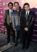 Stock Photo of adrian grenier, kevin dillon, kevin connolly.8th annual chrysalis butterfly b