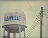 Super 8 USA Nashville watertank Stock Footage