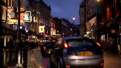 Shaftesbury Avenue Stock Footage