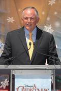 walt disney studios chairman dick cook.official launch of disney's a christma - stock photo