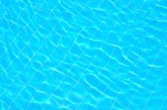 pool water background - stock photo