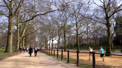 Hyde Park Stock Footage