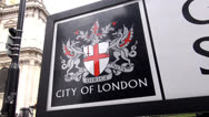 Stock Video Footage of City of London Emblem