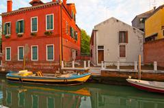 venice italy unusual pittoresque view - stock photo