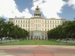 Courthouse in Sanford, Florida Stock Footage