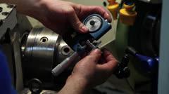 Stock Video Footage of Metalwork 11