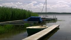 Beautiful Mecklenburg Lake Stock Footage
