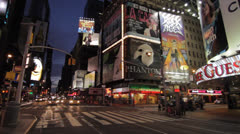 TIMES SQUARE NY Stock Footage