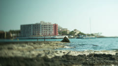 Mediterranean beach vacation travel holidays Stock Footage