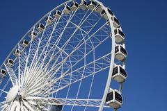 Skyview Ferris Wheel - stock photo