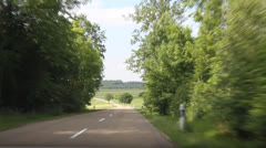 Driving in Germany Stock Footage