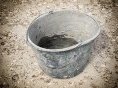 masonry bucket - stock photo