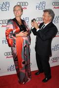 Stock Photo of afi film festival tribute to tilda swinton