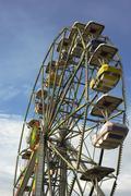 Maailmanpyörä - huvipuisto ratsastaa Kuvituskuvat