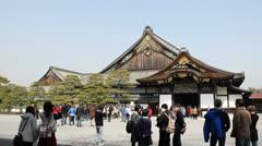 Tofuku-ji samurai residence in Kyoto, Japan. Stock Footage