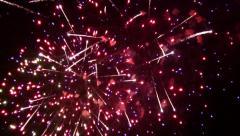 Fireworks Finale - stock footage