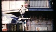 Stock Video Footage of 46 - 1950's Bourbon Street, New Orleans - vintage film home movie