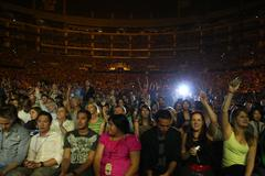 atmosphere.american idols live! tour 2009 - los angeles, california opening n - stock photo
