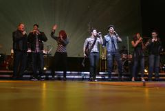 The 2009 american idol finalists.american idols live! tour 2009 - los angeles Stock Photos