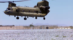 Stock Video Footage of Chinook Take off 01