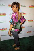 Ashanti & goapele kick-off heineken red star soul in hollywood Stock Photos