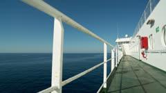 Ferry vacation travel transportation mediterranean Stock Footage