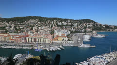 Nice France summer video Stock Footage