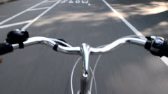 NYC Bike CentralPark Stock Footage