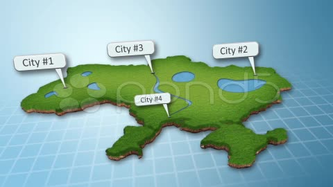 After Effects Project - Pond5 3D Map 25696991