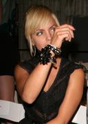 "fashion week la ""d'amore by marceau"" - stock photo"