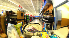Time Lapse of Super Large Store  - 4K Stock Footage