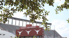 Texas Memorial Stadium 2 Stock Footage