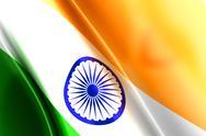 Flag.of india. Stock Illustration