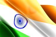 Flag of india Stock Illustration
