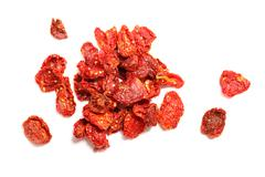dried tomatoes. - stock photo