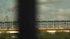 Border Wall Mexico - US Stock Footage