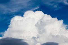 Pre storm clouds Stock Photos